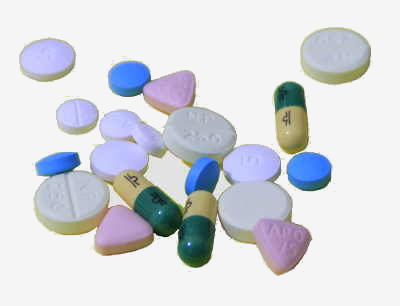 A picture of some tablets